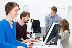 Jobangebote in der KREDITORIAL-Redaktion [© contrastwerkstatt - Fotolia.com]